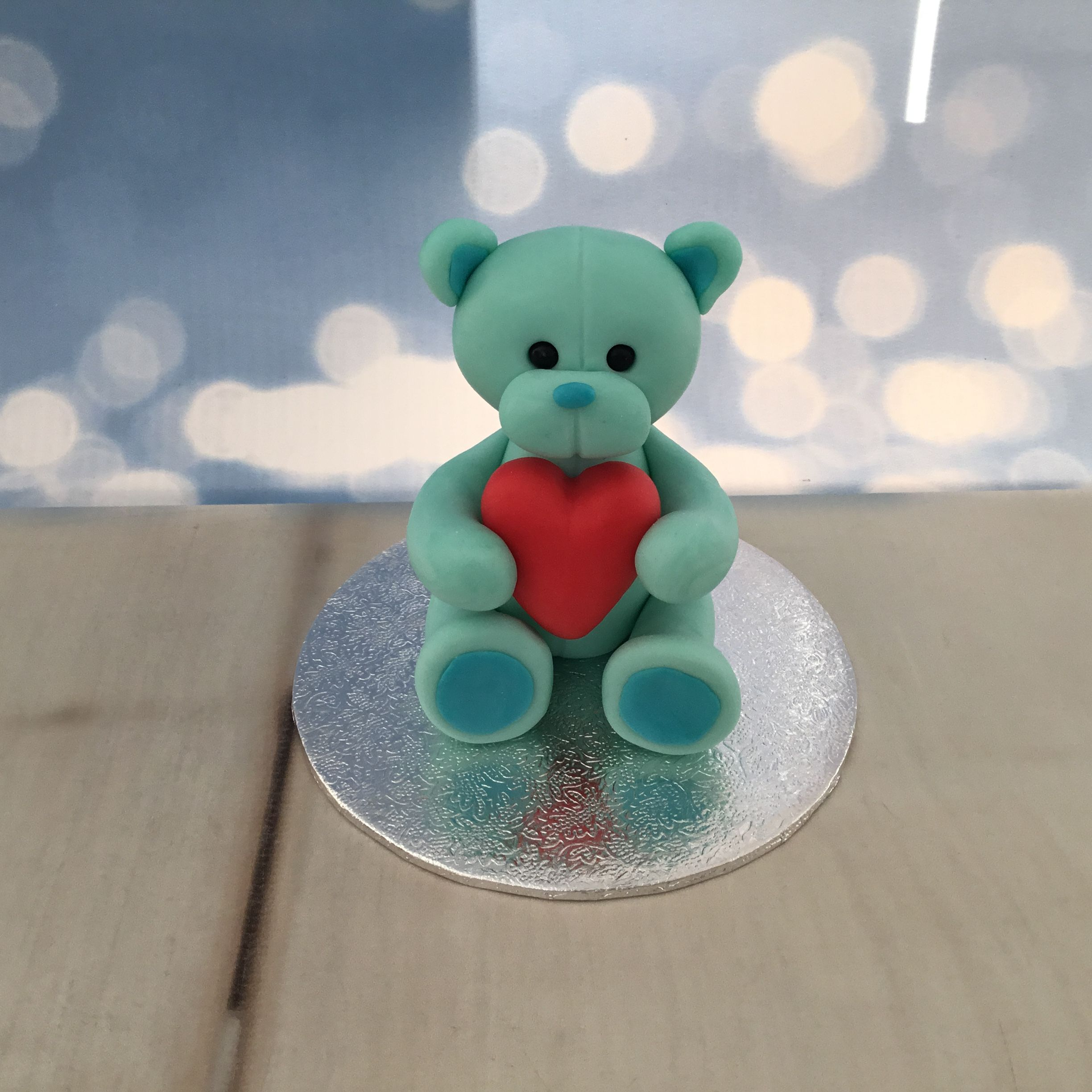 Half size teddy bear £7